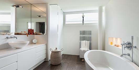 Frisse badkamer door goede ventilatie