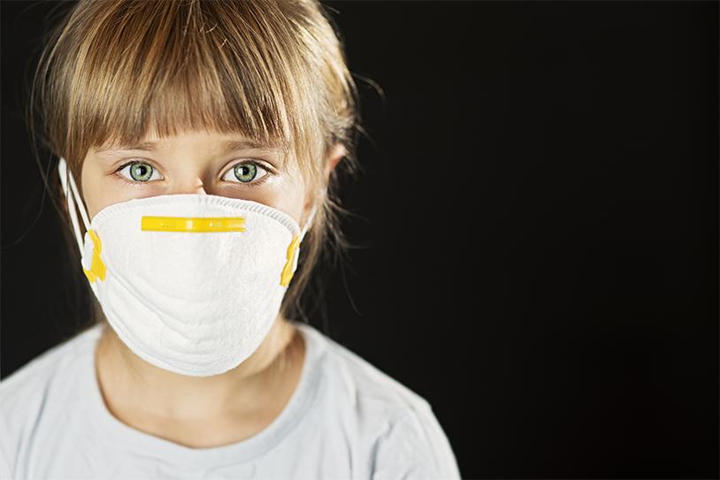 Schimmel en vocht: gezondheidsrisico's